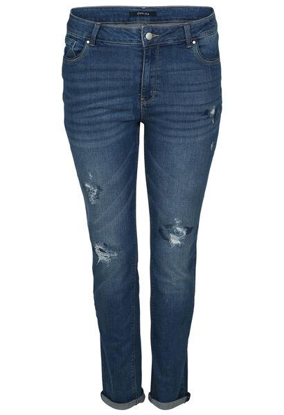 Jeans effet déchirures - Denim