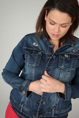 Veste en jeans bijoux, Denim