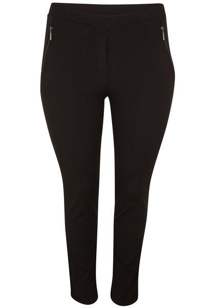 Pantalon ville esprit jegging - Noir