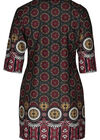 Robe imprimé mosaïque, Bordeaux