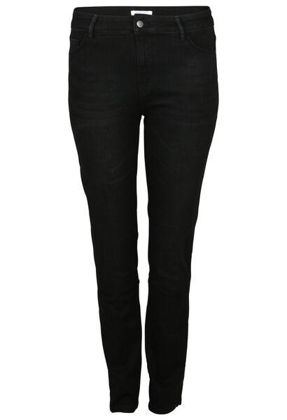 Jeans brodé - Noir