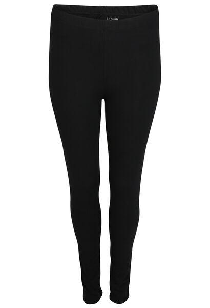 Legging long en coton biologique - Noir