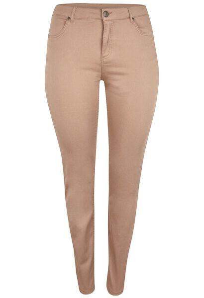 Pantalon 5 poches SLIM galbant - Camel