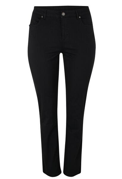 Pantalon 5 poches SLIM galbant - Noir
