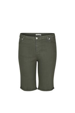 Bermuda 5 poches, Kaki