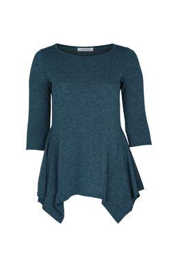 T-shirt tunique en maille chaude, Canard
