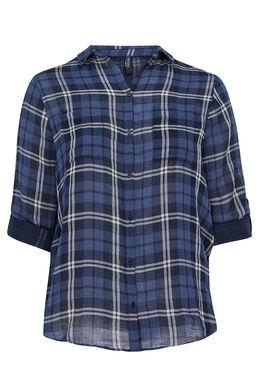 Chemise à carreaux, Marine