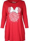 Robe de nuit Minnie, Rouge