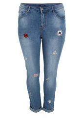 Jeans nina avec patches