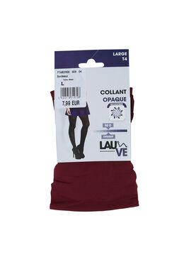 Collant opaque, Bordeaux