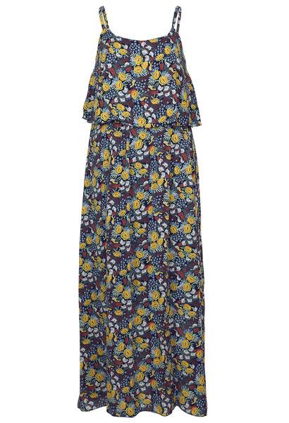 Longue robe imprimé - multicolor