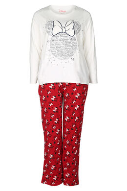 Ensemble de pyjama Minnie, Rouge