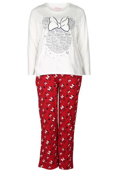 Ensemble de pyjama Minnie - Rouge