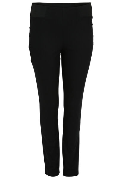Pantalon matière stretch - Noir