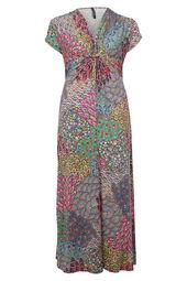 Longue robe imprimé
