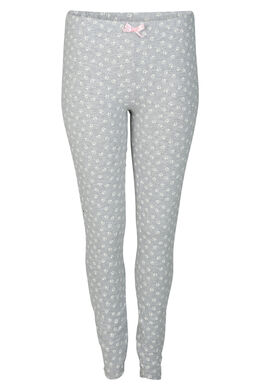 Legging imprimé patte de chat, Gris Chine