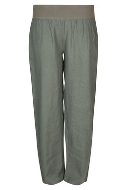 Pantalon en lin, Kaki