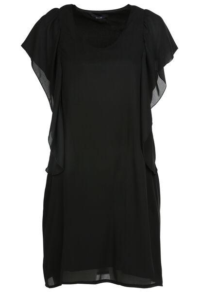 Robe à volants - Noir