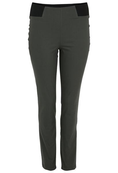 Pantalon matière stretch - Kaki