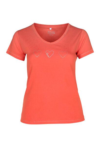 T-shirt coton bio - Orange