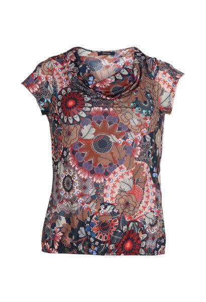 T-shirt imprimé mandala - multicolor