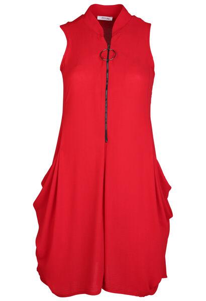 Robe tunique - Rouge