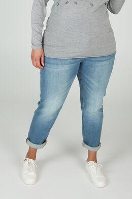 Jeans brodé d'étoiles, Denim
