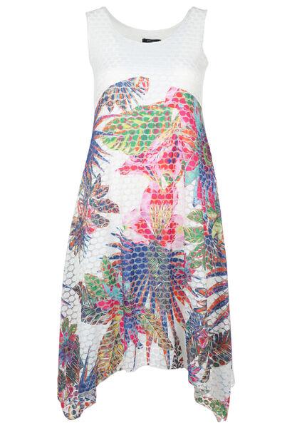 Robe longue imprimé jungle - multicolor