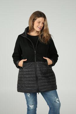 Manteau en laine, Noir