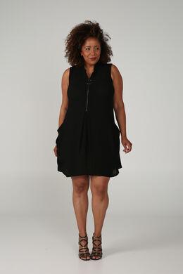 Robe tunique, Noir