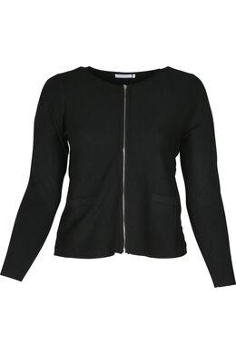Cardigan tricoté, Noir