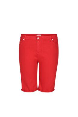 Bermuda 5 poches, Rouge