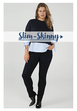 Jeans Skinny-slim pour grandes tailles