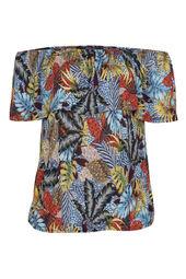 T-shirt imprimé jungle