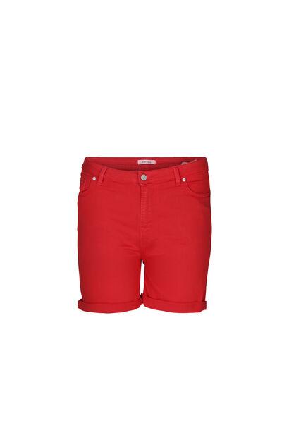 Short 5 poches en coton - Orange