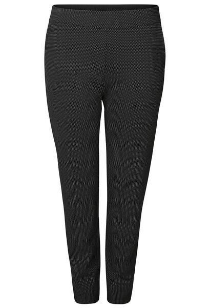Pantalon en maille milano - Noir