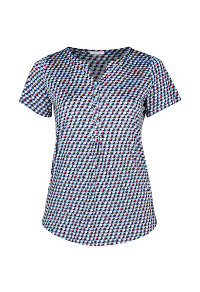 T-shirt maille froide - Ciel