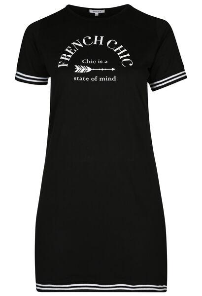 "Robe sportswear ""French Chic"" - Noir"