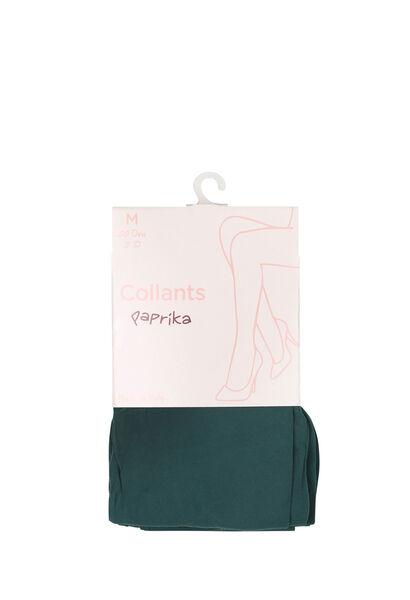 Collants opaques 3D - Vert