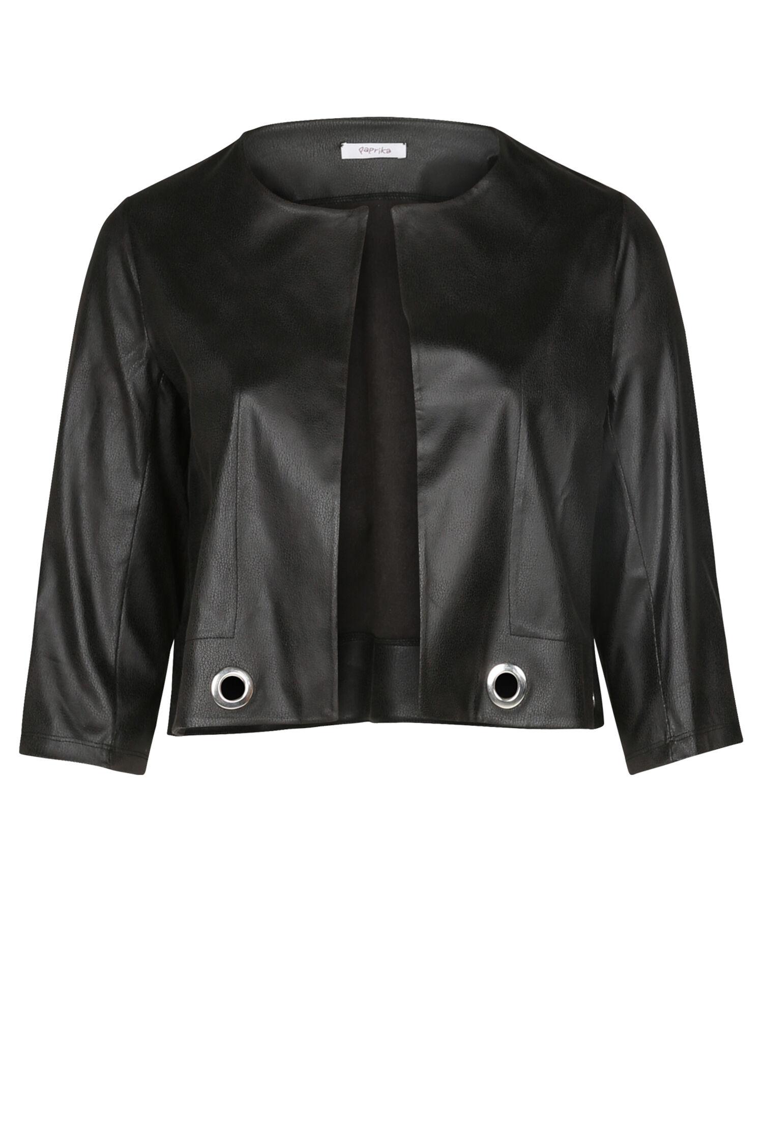 Veste noir courte