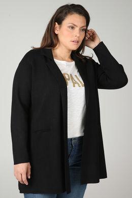 Gilet veste, Noir