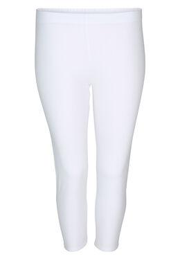 Legging en coton bio, Blanc