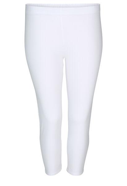 Legging en coton bio - Blanc