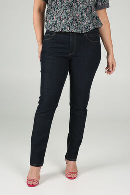 Jeans slim détails sequins, Denim