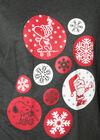 Robe de nuit Snoopy Noël, Gris Chine