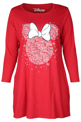 Robe de nuit Minnie, Rouge
