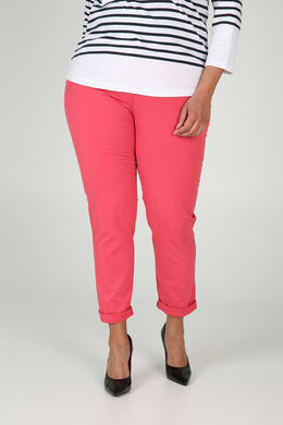 Pantalon en coton, Fushia
