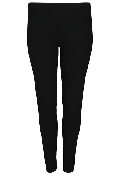 Legging long en coton bio - Noir