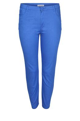 Pantacourt 5 poches, Bleu Bic