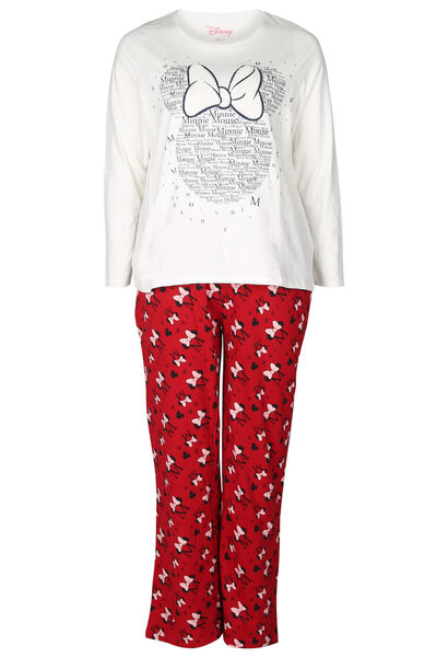 Ensemble de pyjama Minnie - Rouge